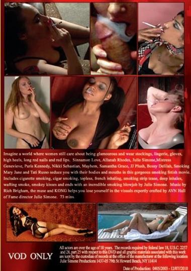 Julie Simone's Smoking Seductions