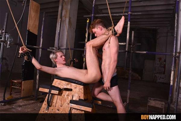 BoyNapped - Leo Ocea & Sky Heet - Roped Up And Well Used - Part 2