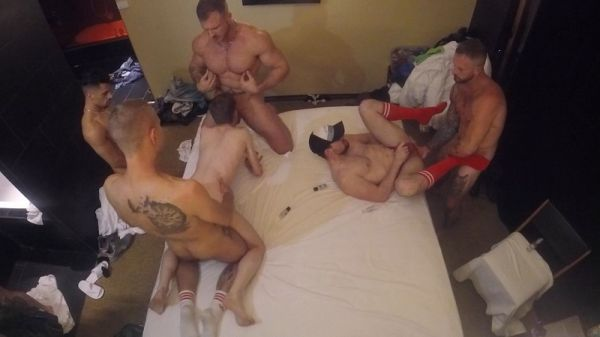 Armond Rizzo - Group fun with Austin Wolf and Seth Santoro