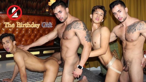 PeterFever - Leo Alexander & Levy Foxx - College Seductions - The Birthday Gift