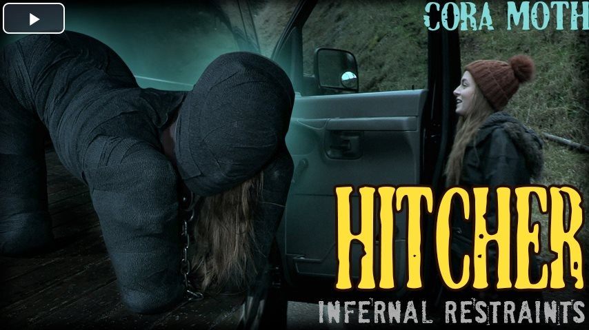 InfernalRestraints - Hitcher - Cora gets into the wrong van and pays the ultimate price!