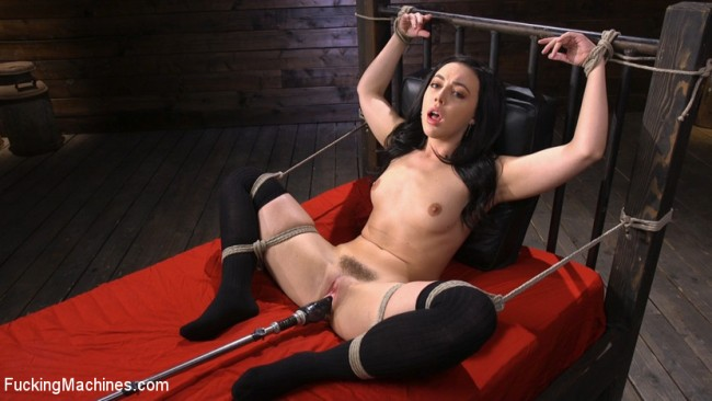 Whitney Wright Is Bound And Fucked