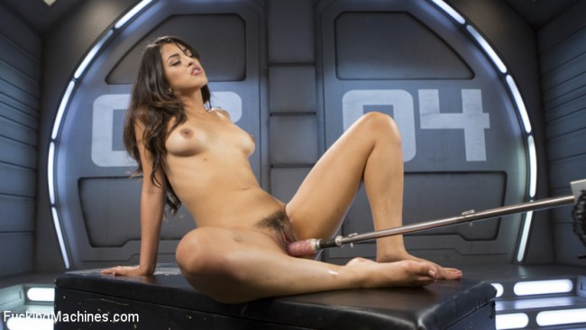 Brand New Girl - Gets Pounded With Machines - Sophia Leone