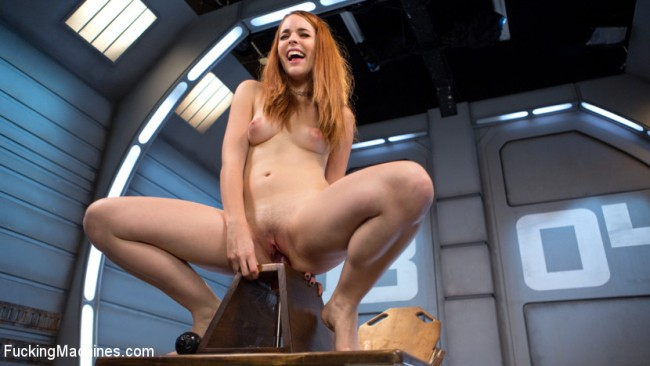 Cute Red Head Gets Fucked Proper - Amarna Miller