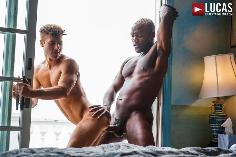 LucasEntertainment - Allen King Services Andre Donovans Big Black Dick