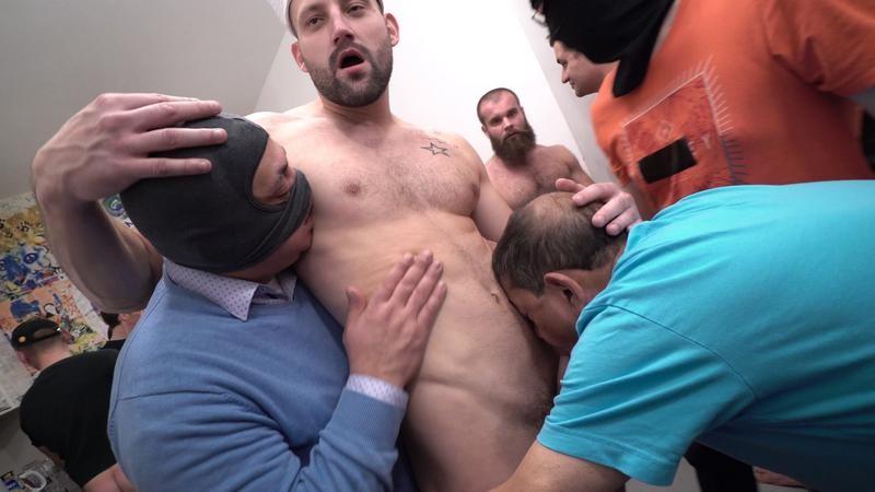 ClubBangBoys - 30 Guys Sperm Party Scene 2