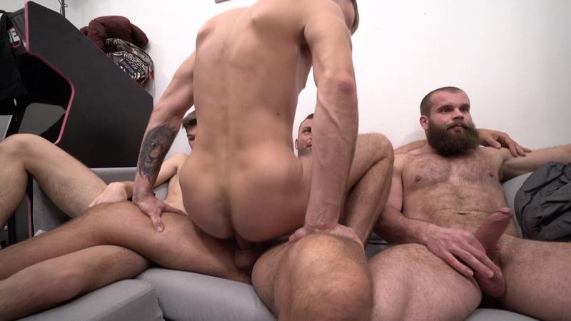 ClubBangBoys - 30 Guys Sperm Party Scene 4