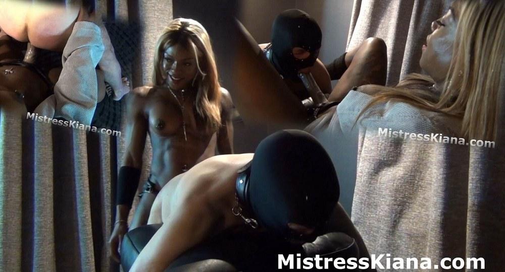 Mistress Kiana - Caught Sniffing Mistress Kiana's Panties
