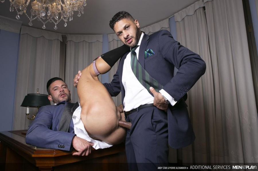 MenAtPlay - Andy Star & Pierre Alexander - Additional Services