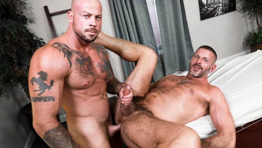 MenOver30 - Clay Towers & Sean Duran - Massaged Hard