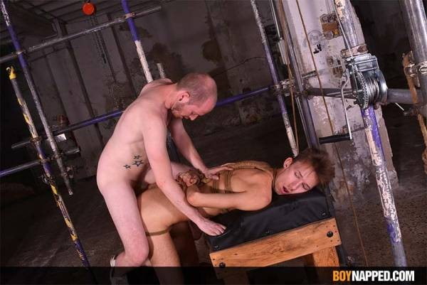BoyNapped - Sean Taylor & Jay Mcdally - Owning A Horny Hung Twink - Part 2