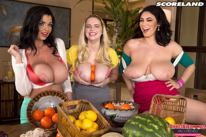 Alexya, Codi Vore And Sha Rizel – Fun With Fruit – FULLHD 1080P