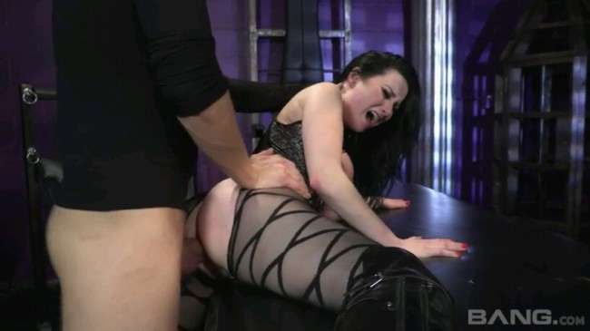 Babe In Thigh High Boots Ass Fucked In Submission