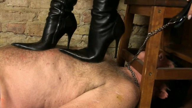 Trampling And Crushing In Boots By Lady Chanel