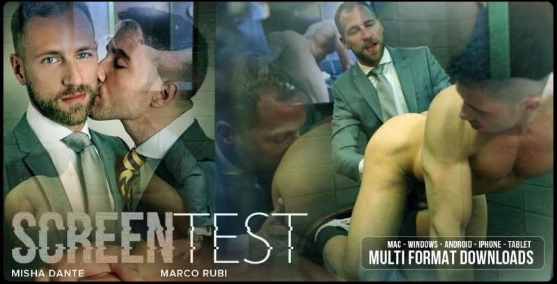 MenAtPlay - Marco Rubi & Misha Dante - Screen Test