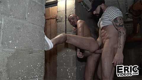 EricVideos - 2nd round in the cellar for Kalid with Gianni Maggio