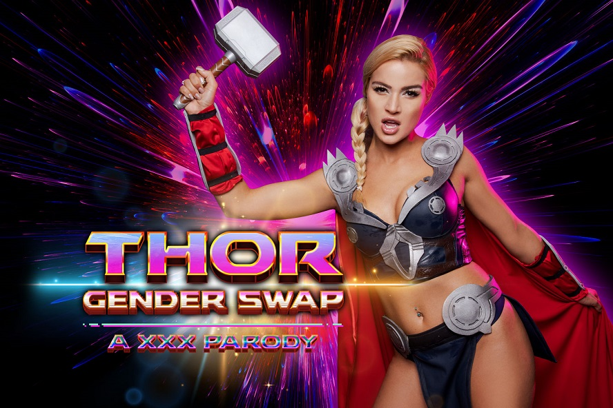 Thor a XXX Parody Gender Swap, Cherry Kiss, August 16, 2019, 5k 3d vr porno, HQ 2700