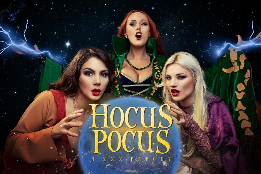 Hocus Pocus A XXX Parody, Angel Wicky, Valentina Nappi, Zazie Skymm, October 31, 2019, 5k 3d vr porno, HQ 2700