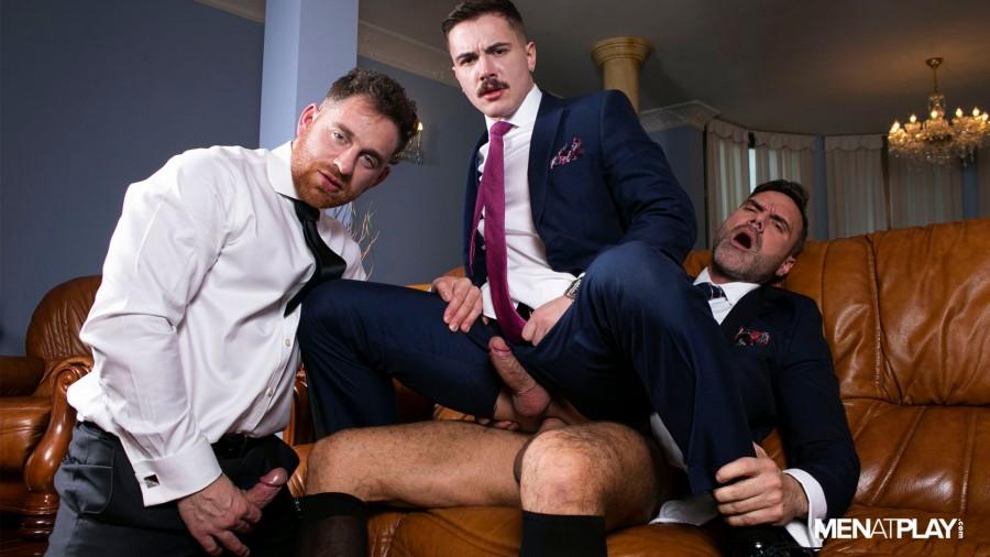 MenAtPlay - Austin Sugar, Jonas Jackson, Manuel Skye - Suited Hustler