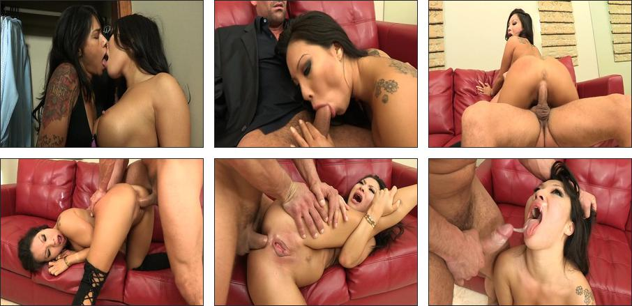 Dirty Anal 3-Ways, Scene 1