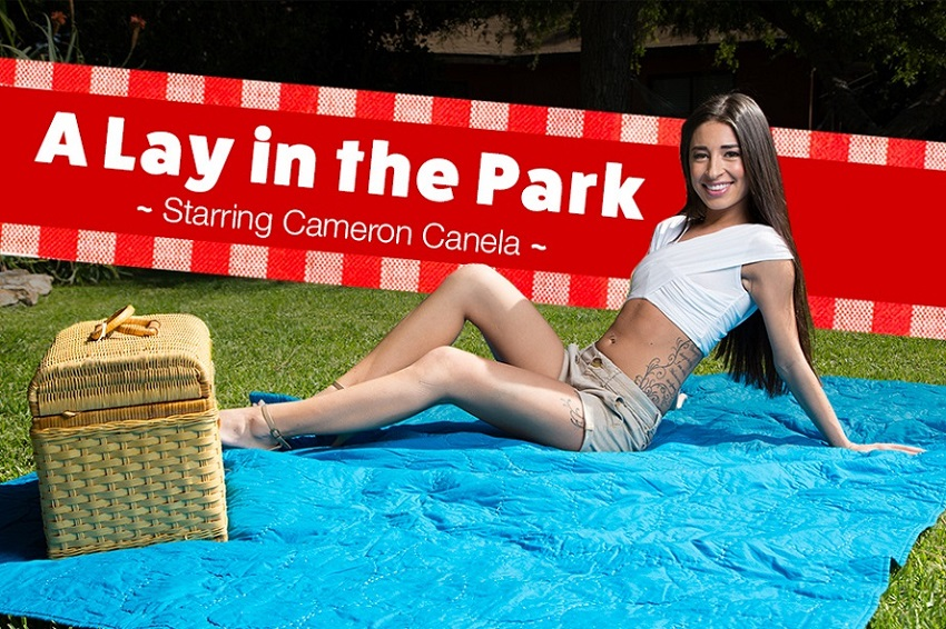 A Lay In The Park, Cameron Canela, May 03, 2017, 3d vr porno, HQ 1920