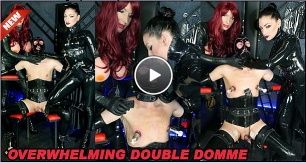 Overwhelming Double Domme - Dominant Dolly & Miss Jade Jones