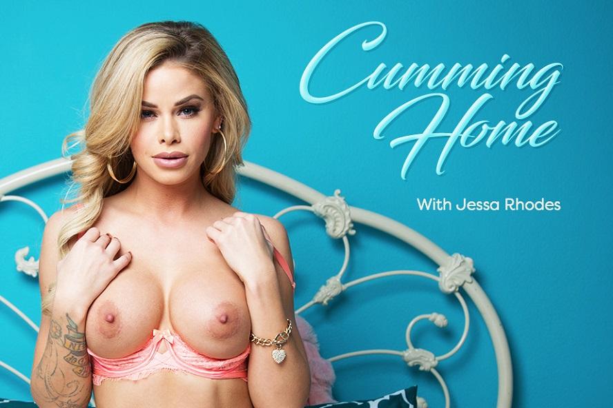 Cumming Home, Jessa Rhodes, May 11, 2017, 3d vr porno, HQ 1920
