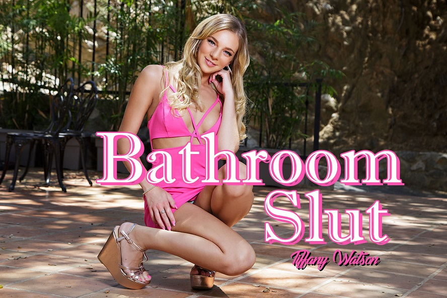 Bathroom Slut, Tiffany Watson, July 24, 2017, 3d vr porno, HQ 1920