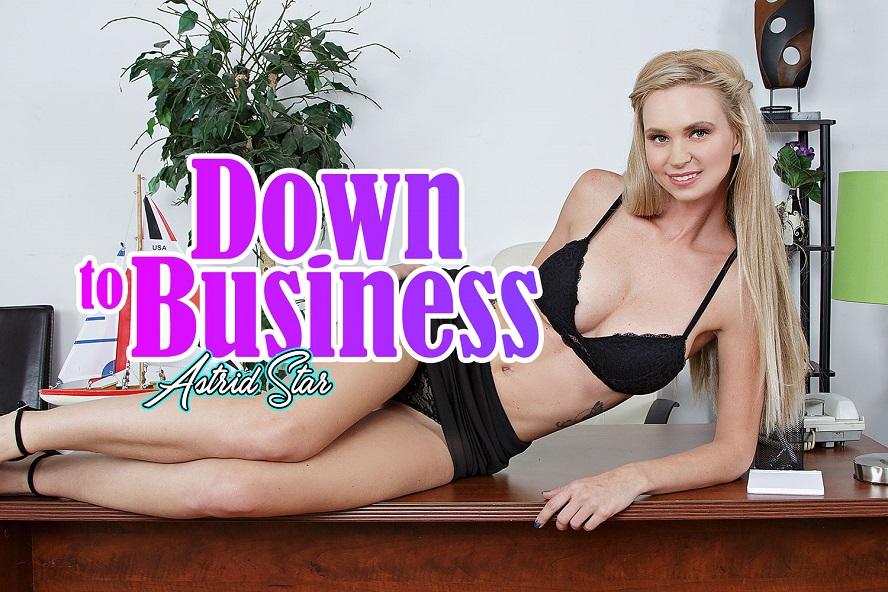 Down To Business, Astrid Star, November 30, 2017, 3d vr porno, HQ 1920