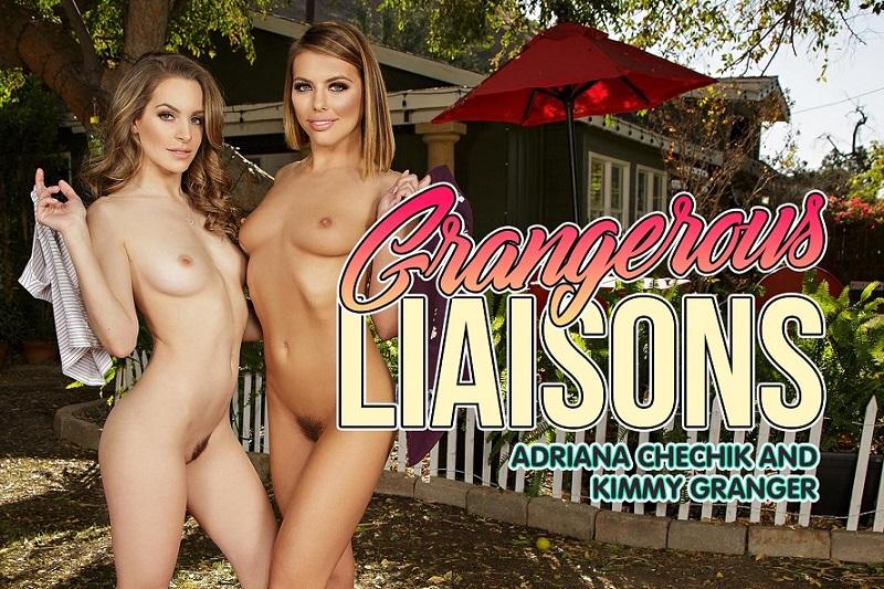 Grangerous Liaisons, Adriana Chechik, Kimmy Granger, January 22, 2018, 3d vr porno, Adriana Chechik, Kimmy Granger