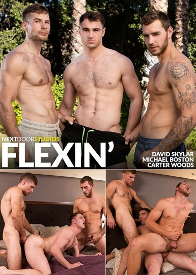 NextDoorBuddies - Carter Woods, Michael Boston, David Skylar - Flexin