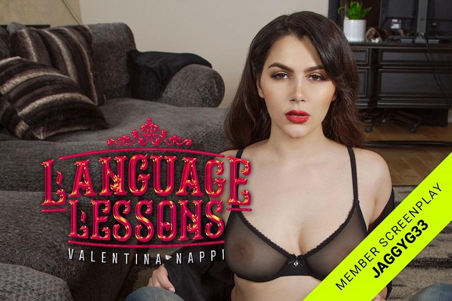 Language Lessons, Valentina Nappi, August 08, 2019, 3d vr porno, HQ 2700