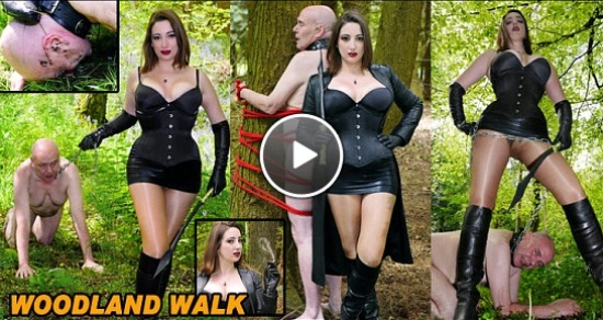Woodland Walk - Mistress Evilyne