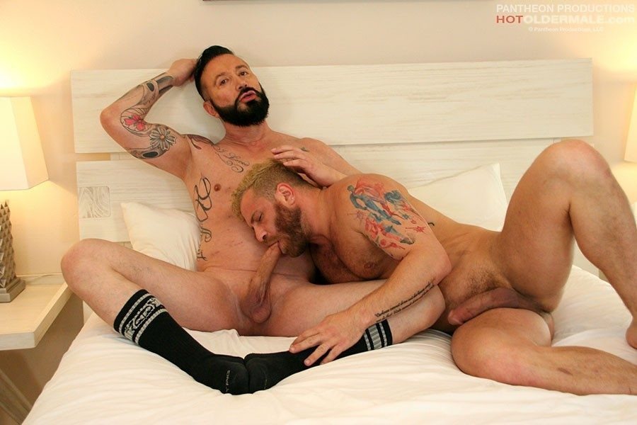 HotOlderMale - Riley Mitchell Takes T. Wilcox's Uncut Cock - Riley Mitchell, T. Wilcox
