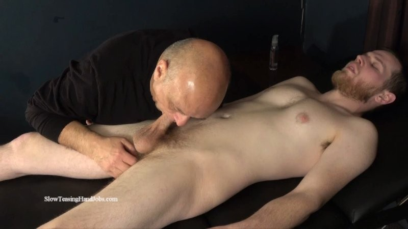 SlowTeasingHandjobs - Michael Sucked, Stroked, Rimmed and Fingered