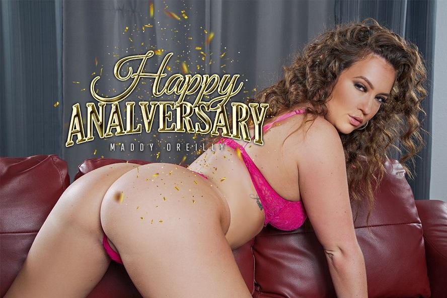 Happy Analversary, Maddy O'Reilly, September 02, 2019, 3d vr porno, HQ 2700