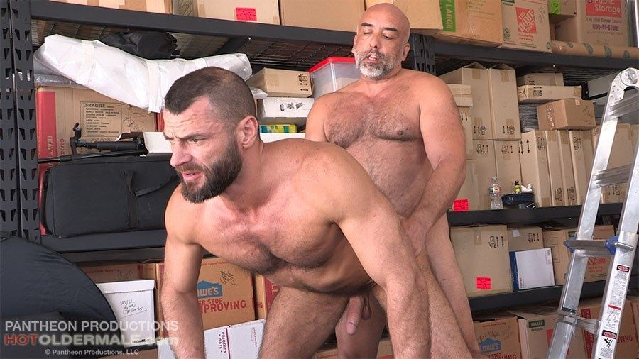 HotOlderMale - Lost Dads - Brian Breeds Jake With His Fat Dick - Brian Davilla, Jake Morgan
