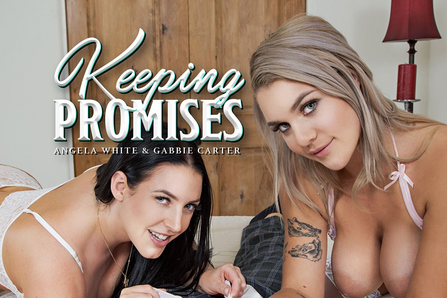 Keeping Promises, Angela White, Gabbie Carter, November 14, 2019, 3d vr porno, HQ 2700
