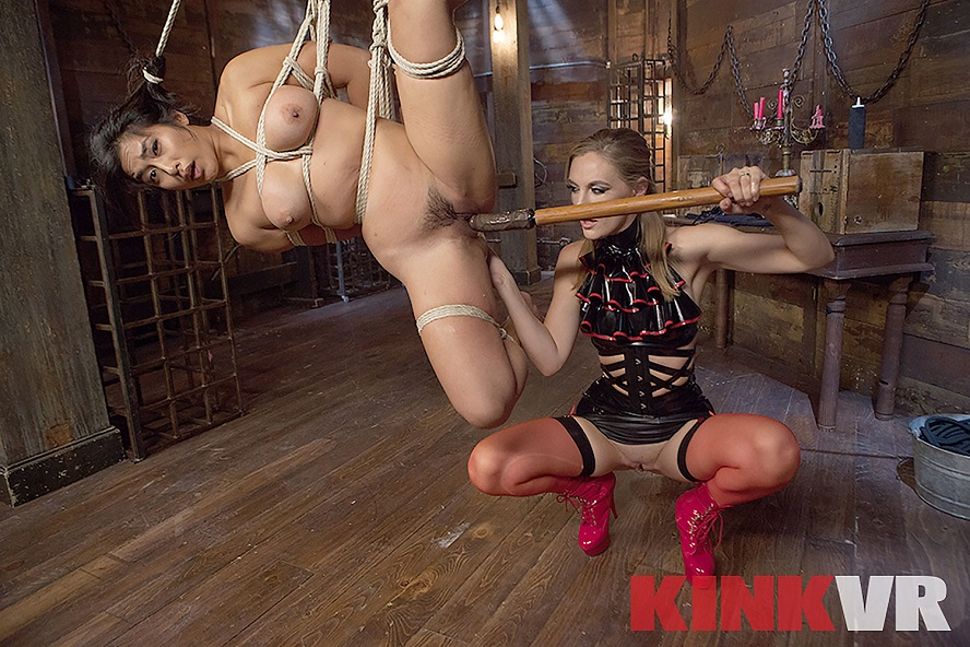 Dangling Rope Slut, Mona Wales, Mia Little, November 20, 2018, 3d vr porno, HQ 1920