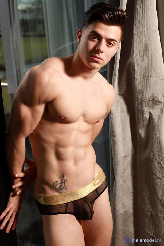 MaleModelNL - Alex P, young fitness model from Madrid