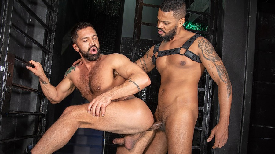 DominicPacifico - Diego Moreno, Dominic Pacifico - Raw and Sleazy Men's Room Leatherfuck