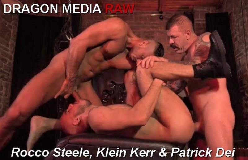 Rocco Steele's Barcelona Underground - Scene 4 - Rocco Steele Klein Kerr & Patrick Dei