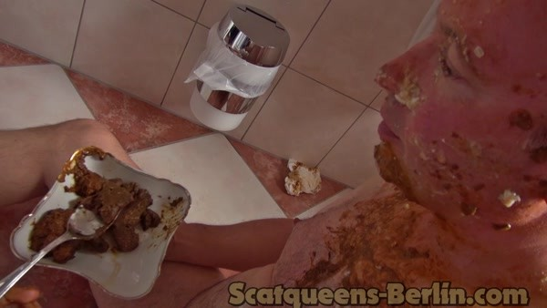 Lady Kimi, Lady Domi and Lady Lucy - 4 Scatqueens 1 Slave - part 3 (HD 720p)