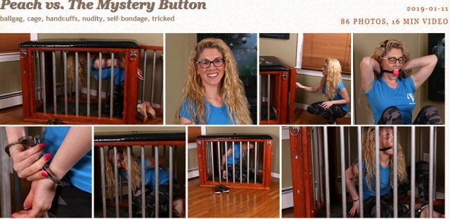 Peach vs. The Mystery Button - 2019-01-11 - Bondage Video