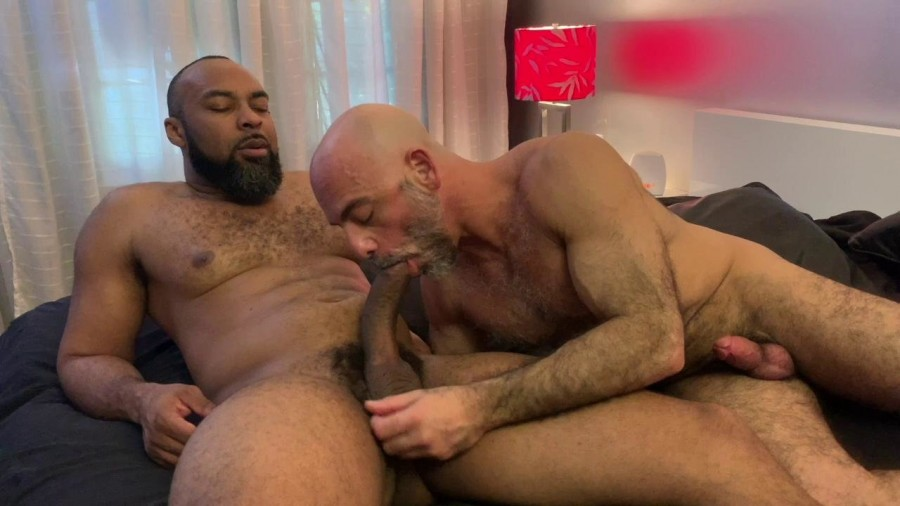 RawFuckClub - Adam Russo takes Ray Diesels big curved dick Part 2