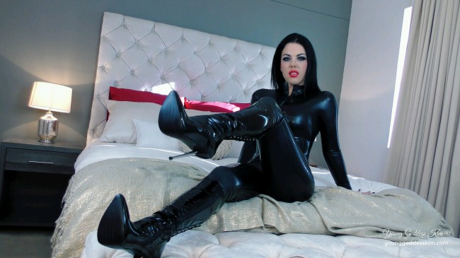 Blinded By Desire - Boots Fetish HD Video - Young Goddess Kims Fantasiess Fantasies