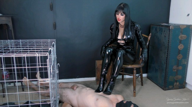 Edge Of Darkness - Boots Fetish HD Video - Young Goddess Kims Fantasies