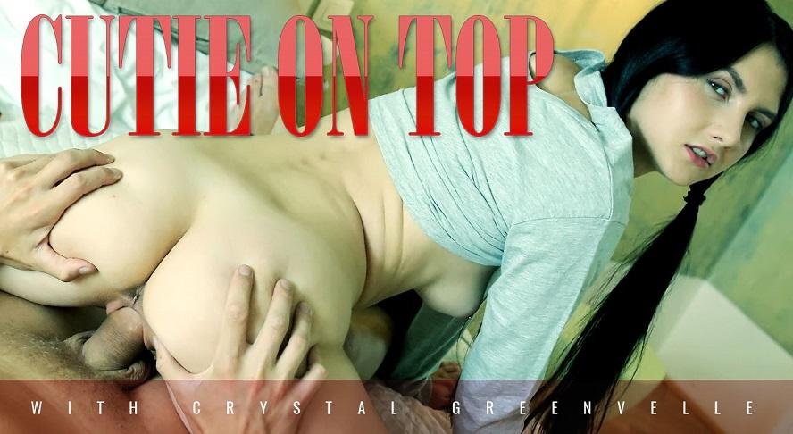 Seductive brunette gives up lessons for sex, Crystal Greenvelle, August 4, 2017, 3d vr porno, HQ 1920