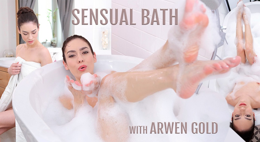 The Most Sensual Bath Solo by Arwen Gold in VR, Arwen Gold, November 21, 2017, 3d vr porno, HQ 1920