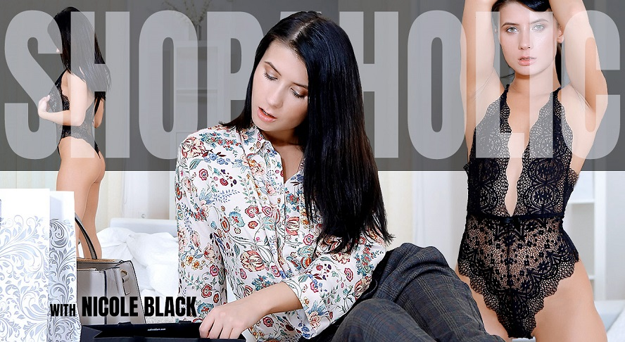 Breathtaking Brunette Tries On New Clothes, Nicole Black, November 28, 2017, 3d vr porno, HQ 1920